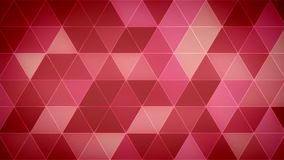 Triangle Polygon Loop 06 Love. Seamless looping background of triangles stock video footage