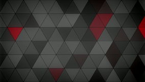 Triangle Polygon Loop 08 Masculine. Seamless looping background of triangles stock footage