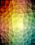 Triangle polygonal pattern Royalty Free Stock Images