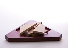 Triangle Puzzle Royalty Free Stock Image