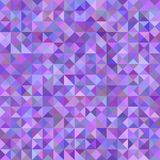 Triangle pyramid background - mosaic vector design from triangles in purple tones. Abstract triangle pyramid background - mosaic vector design from triangles in stock illustration