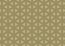 Triangle Quilt Pattern Texture. A quilt pattern texture in white and brown colors Royalty Free Stock Photos