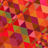 Triangle Random Geometric Background Colorful. Vector Royalty Free Stock Photography