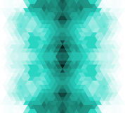 Triangle retro background. Stock Photos