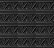 triangle ronde Dot Line de l'art 3D de papier foncé Photographie stock libre de droits