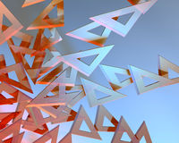 Triangle Rulers Stock Images
