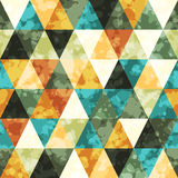 Triangle seamless  background Royalty Free Stock Images