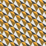 Triangle seamless pattern. Contrasting fashionable polygonal backdrop. Triangle seamless pattern. Vector illustration. Contrasting fashionable polygonal Royalty Free Stock Photo