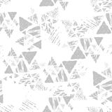 Triangle seamless pattern stock images