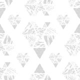 Triangle seamless pattern stock photos