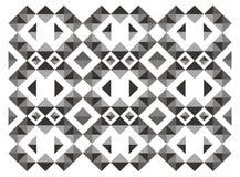 Triangle seamless pattern Stock Photo