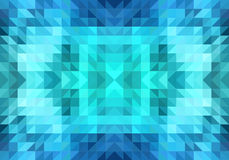 Triangle seamless vector pattern Stock Photography