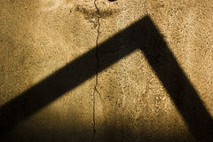 Triangle shadow Royalty Free Stock Photography