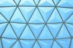 Triangle shape's roof Royalty Free Stock Photo