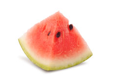 Triangle slice of water melon Royalty Free Stock Photography
