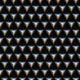 Triangle spikes pattern Stock Photos