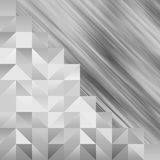 Triangle and Square  on  abstract  background Royalty Free Stock Image
