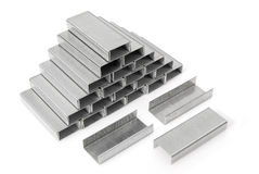 Triangle stacked staple Stock Images