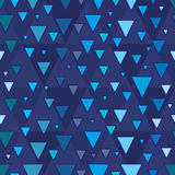 Triangle step seamless pattern Stock Images