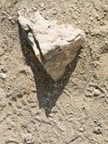 Triangle stone royalty free stock photography