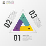 Triangle style Infographics. Modern design template. Vector illustration.  vector illustration