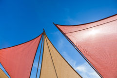 Triangle Sun Shades Royalty Free Stock Photo
