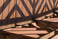 Triangle. Symmetrical triangle is very beautiful Royalty Free Stock Photography