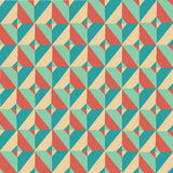 Triangle Symmetry Vintage Pattern 2. Vector for Use Stock Photos