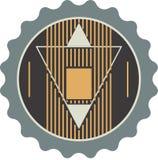Triangle Technology Company略写法 也corel凹道例证向量 库存图片