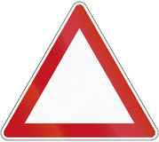 Triangle Template Royalty Free Stock Image
