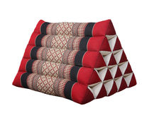 Triangle Thai style  pillow Royalty Free Stock Image
