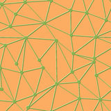 Triangle vector seamless pattern Royalty Free Stock Photo