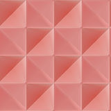 Triangle vector seamless pattern, geometric tile Royalty Free Stock Photography