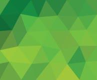 Triangle verte Photos libres de droits
