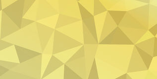 Triangle wallpaper. Triangle geometric wallpaper. Gold aluminium foil texture. Abstract geometric in yellow color pattern. Vector illustration. Sale Holiday Stock Image
