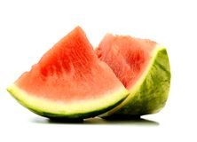A triangle watermelon slice Royalty Free Stock Images