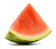 Triangle watermelon slice Royalty Free Stock Images