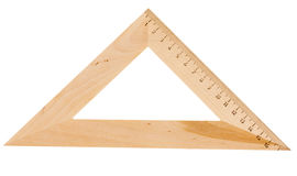 Triangle wooden Royalty Free Stock Images