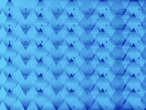 Triangled błękita abstrakt Zdjęcie Royalty Free