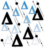 Triangles Stock Images