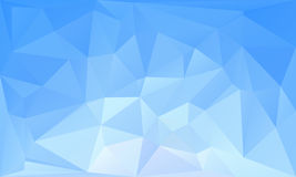 Triangles abstract background - blue white. Vector illustration royalty free illustration