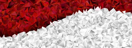 Triangles, abstract background. Design wallpaper stock illustration
