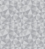 Triangles, Abstract Vector Seamless Pattern. Royalty Free Stock Image