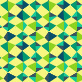 Triangles background seamless pattern Royalty Free Stock Photos