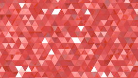 Triangles background. Abstract reflecting red triangles background stock video footage