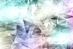 Triangles background Stock Photography