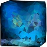 Triangles background. different blue Stock Images