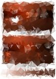 Triangles background. different-colored. Triangles of yellow tones. burgundy colors with white Royalty Free Stock Photos