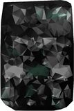 Triangles background. different yellow treuolniki. Yellow tones. black tone. coal Stock Images