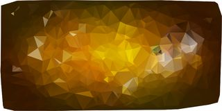 Triangles background. different yellow Stock Photography